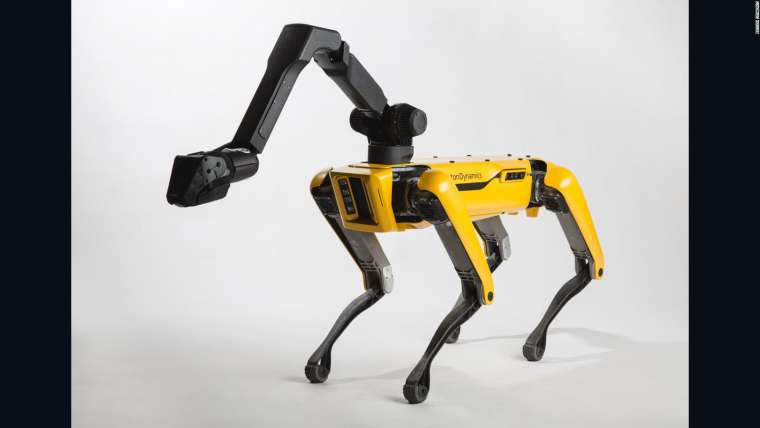 Massachusetts Police Testing a Robot Dog